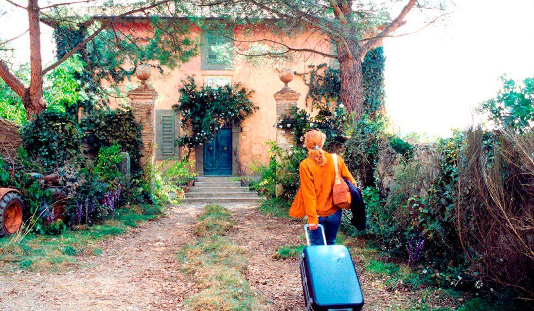 Bajo el sol de la Toscana: Una película que brama por el sol
