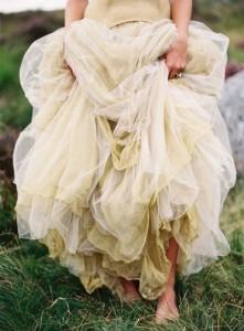 vestido vaporoso