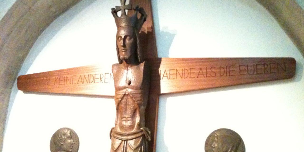 El Cristo de la iglesia de St. Ludgeri
