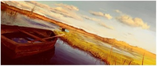 Boats-Digital-Painting-2009-by-Fredrik-Rattzen-575x244[4]