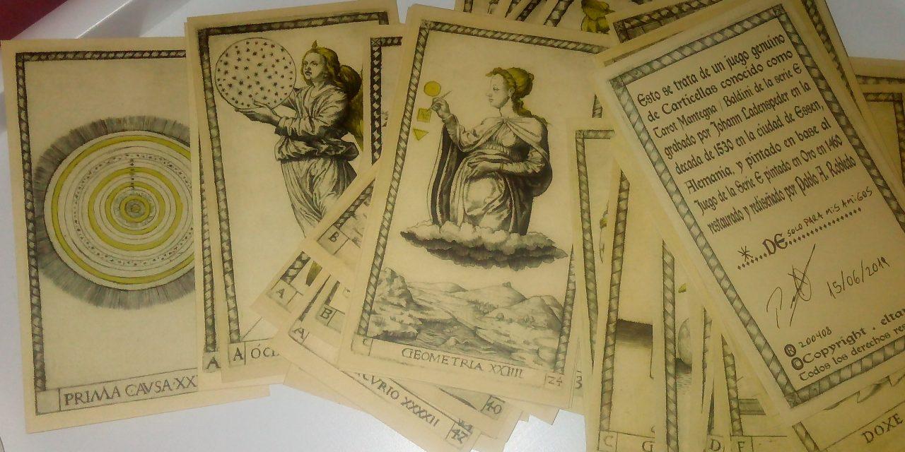 Apuntes y reflexiones sobre el Tarot de Mantegna