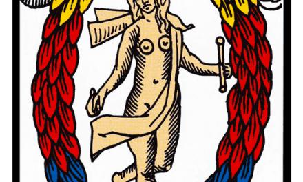 Acerca del Tetramorfo en el Arcano XXI del Tarot de Marsella